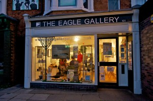 And the Eagle Gallery. It's next to the Eagle Bookshop and that's opposite the Cheese Kitchen which is next to the best garage in Bedford (down the alleyway).