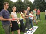Team GB egg and spoon race