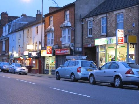 The bright lights of Tavistock St