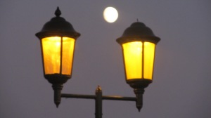 Nothing to do with the blog, just the moon over Bedford! Well why not?