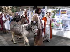 Jesus visits Bolton! Safer than Palestine...just!