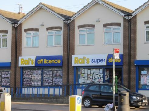 Its a shop! It's Rai's super duper shop down Cardington Road! Were you expecting smething else?