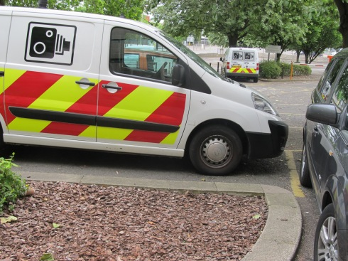 Don't hurt the vans!
