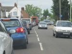Come to Bedford. The traffic is crap.