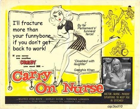 Carry on Nurse Nadine