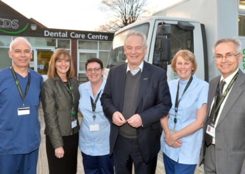Francis Maude and some people!