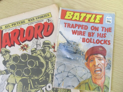 The full reality of war, great summer holiday reading!